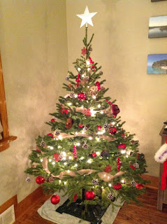 image 2015 Decorated Christmas Tree - Omemee Potash Creek Farms Spruce