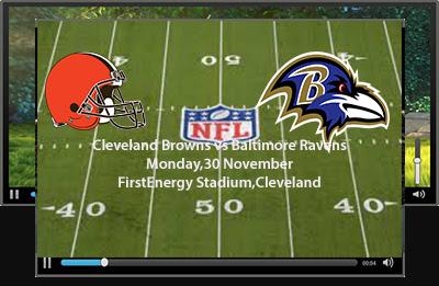NFl,Cleveland,browns,Baltimore,Ravens,Live