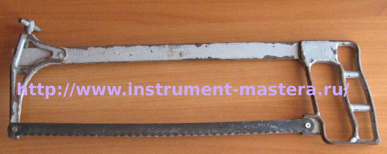 Слесарная ножовка по металлу