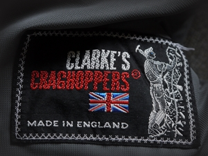Clark's Craghoppers breeches label