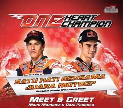 Jadwal Meet & Greet Marquez & Pedrosa