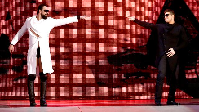 Damien Sandow Mike The Miz WWE Intercontinental A list movie star