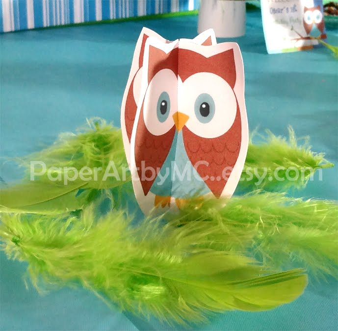 Owl Boy Birthday Party