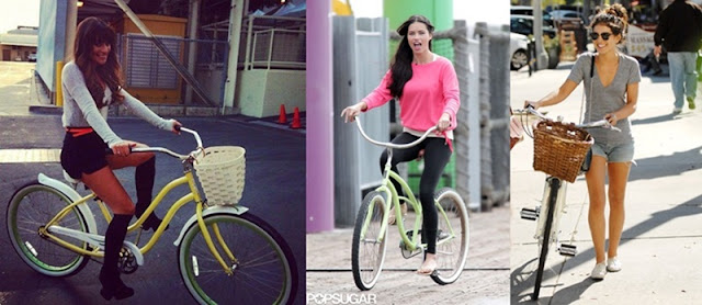 Bicycle_style_Lea Michelle_Adriana Lima_Shenae Grimes