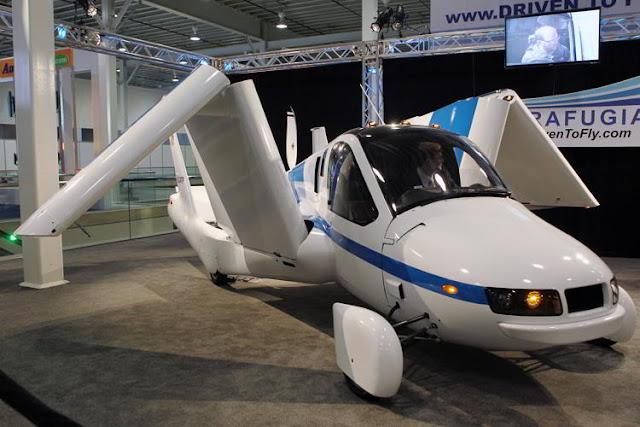 Фото Xinhua/Укринформ: автомобиль-самолет