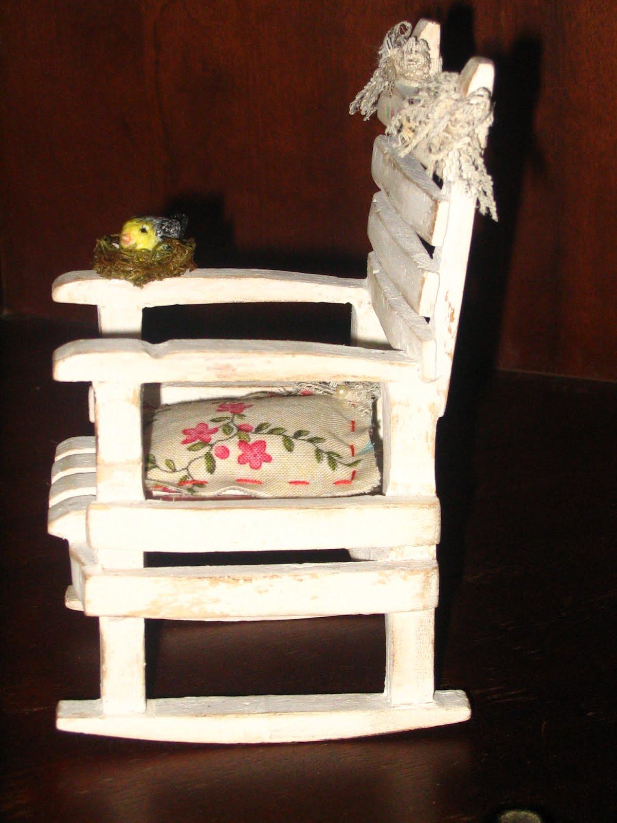 PURA INSPIRAÇÃO: Mini Cadeira passo a passo #AD1E2F 1200x1600
