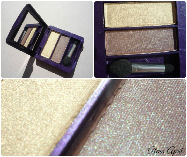 The One Prismatic Eye Shadow Duo,  Icy Purple, 31178, Лунное затмение