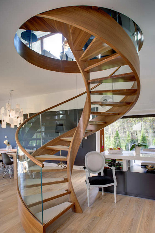 impressive spiral staircase heliocidal staircase