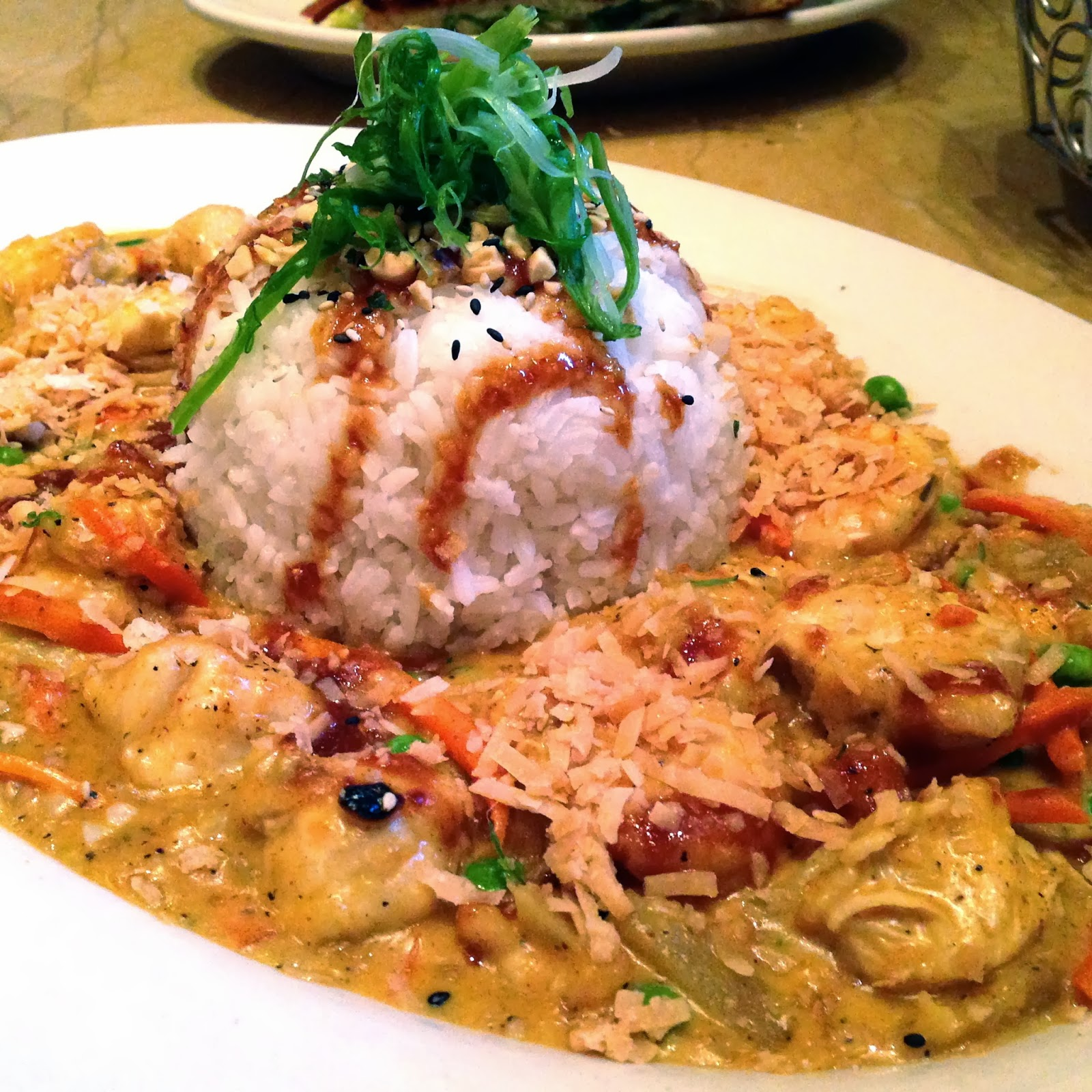 ... Through the Cheesecake Factory Menu: Bang - Bang Chicken and Shrimp