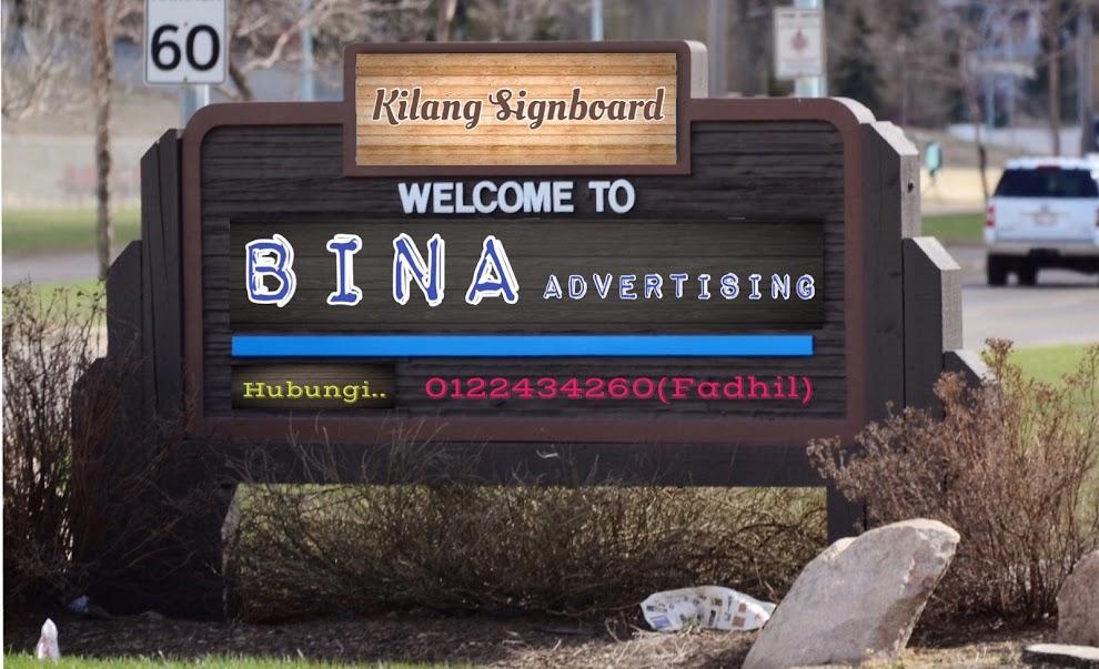 Kilang Signboard