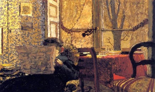 La lecture du journal de Edouard Vuillard, 1898