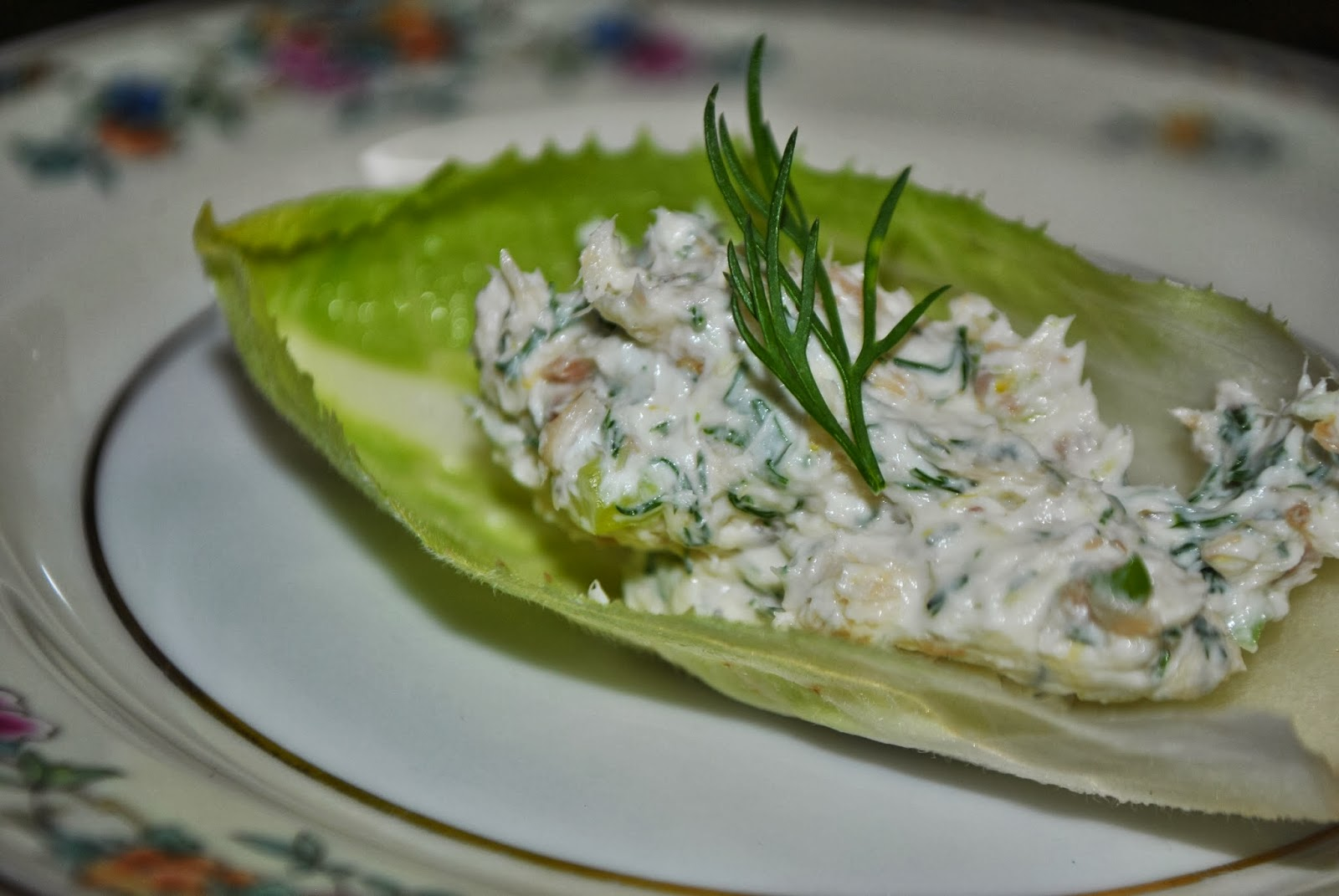 Smoked Chicken Mousse On Endive Recipe — Dishmaps