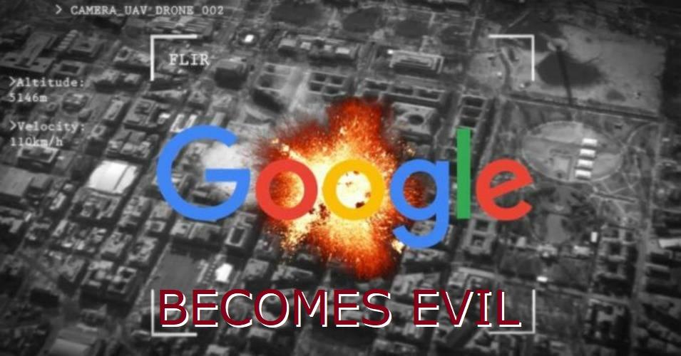 AI Drone Programs By Google?