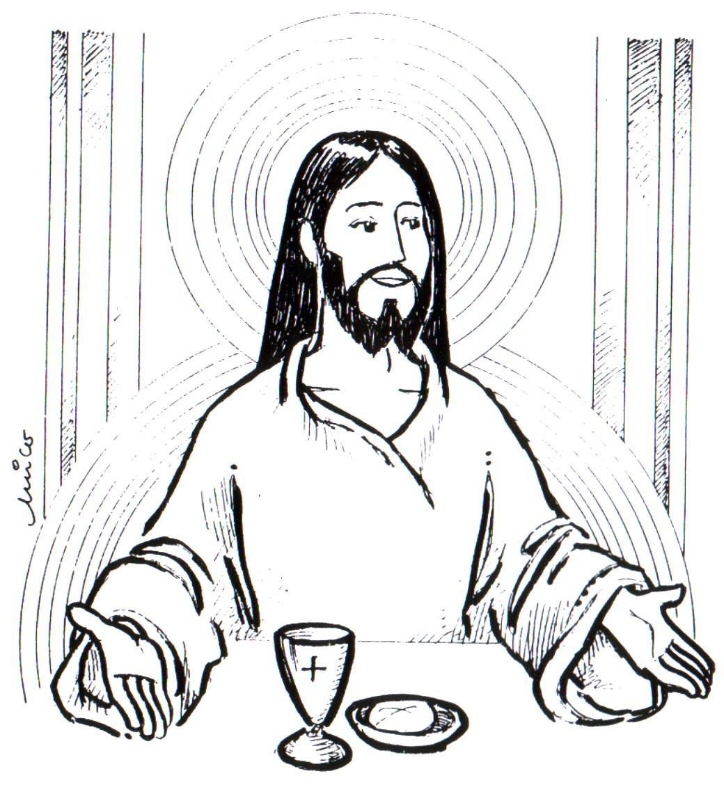 Educar con Jesús: Corpus para colorear