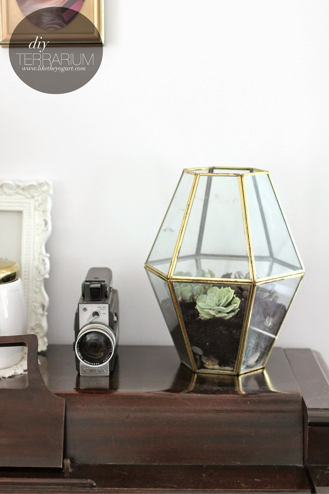 DIY Terrarium // Like The Yogurt blog
