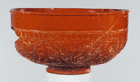 Photograph of first century bowl from the Metropolitan Museum of Art