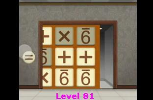 solving 100 floors level 81 mobile game