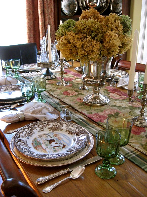 Far Above Rubies Tablescapes