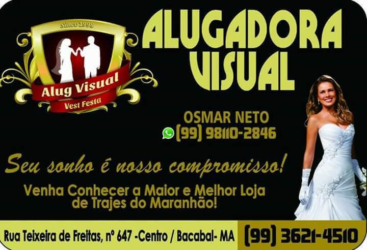 ALUGADORA VISUAL SEU SONHO É NOSSO COMPROMISSO