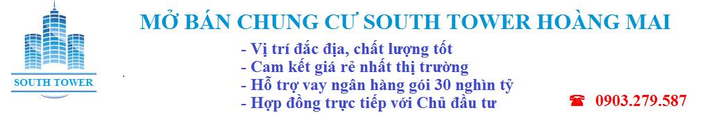 Bán chung cư South Tower Hoàng Liệt  giá rẻ -0903279587