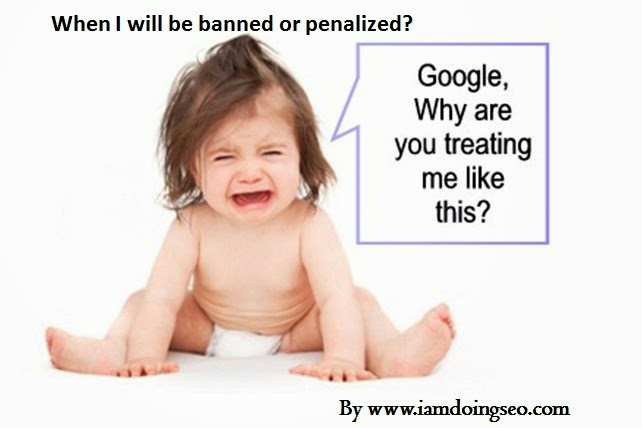 How can we understand weather the site is banned or penalized by search engines