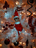 elf on the shelf, elf after the shelf, christmas tree