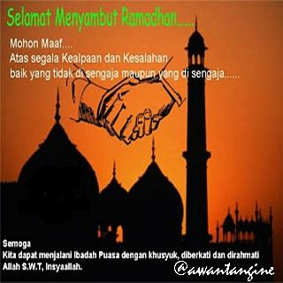 DP BBM selamat menyambut ramadhan