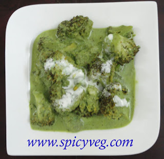 Creamy Brocoli Curry