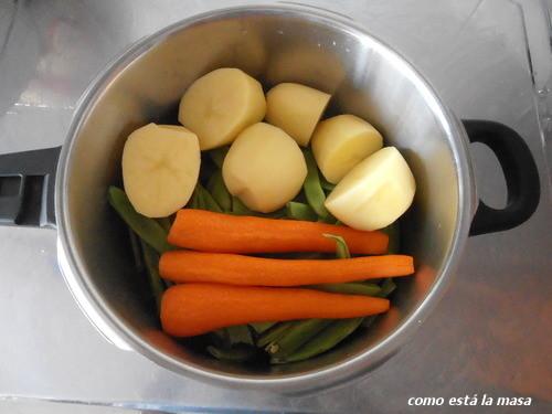 Como est la masa jud as verdes con patatas y zanahoria - Judias verdes en olla express ...
