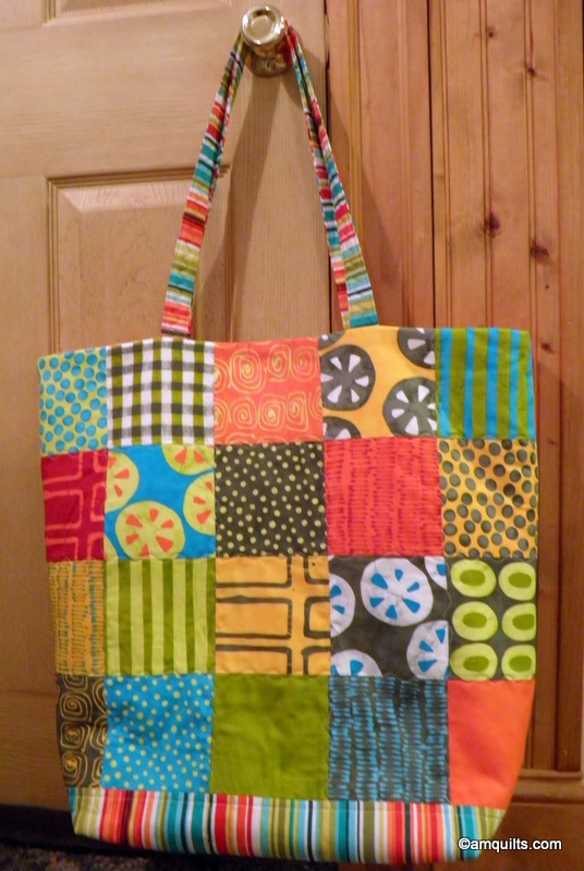 AM Quilts: Another Giant Beach Bag