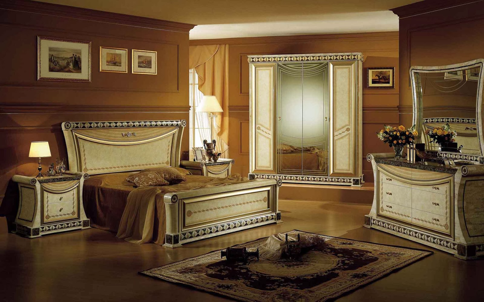 Chambre vintage moderne – lombards