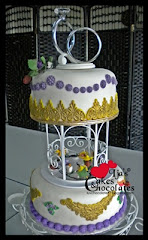 Wedding Cake~Fondant 5