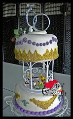 Wedding Cake~Fondant 5