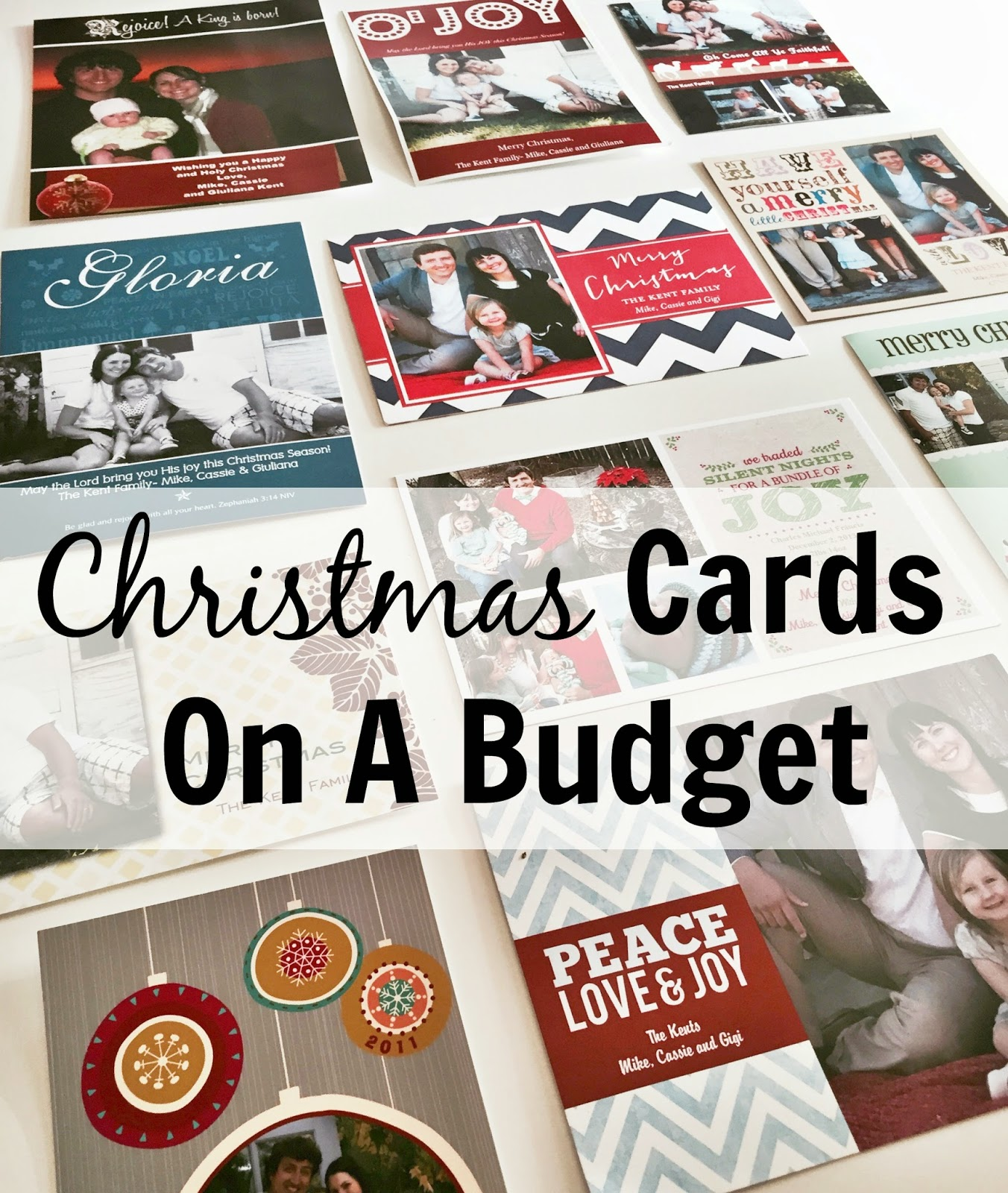 Kent Heartstrings Christmas Cards On A Budget