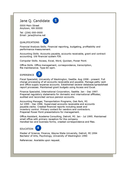 sample cover letter for resume. 2011 Skills Resume Example job