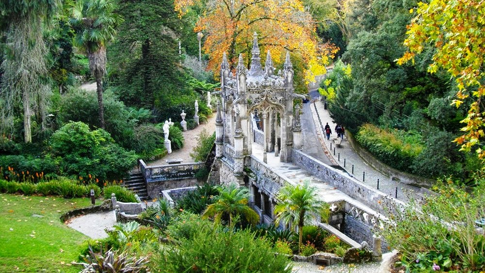 Para sos em portugal lagoa da cascata e quinta da for Jardines quinta da regaleira