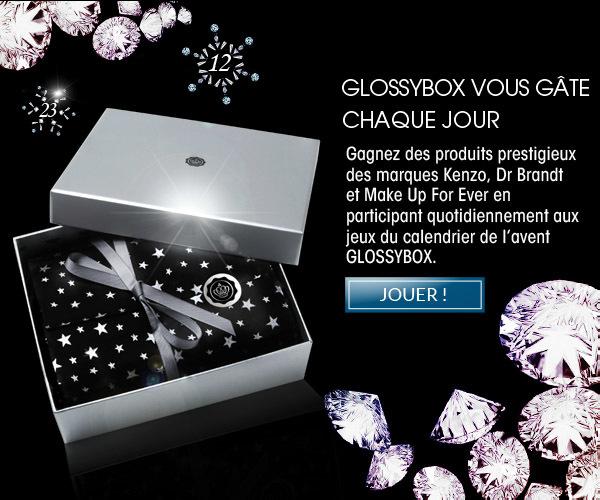 C'est Noël tous les jours avec GLOSSYBOX: concours