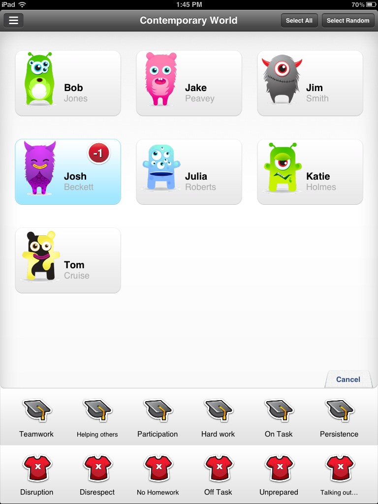 Class Dojo Planeta E Learning Mes Art Tech Kids Learn Circuitry From Blobz And Basic Programming Red Sox Fans Note Who Was Marked Down For Being Unprepared In My Demo