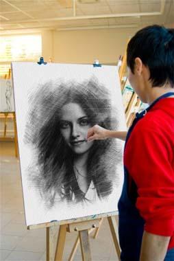 Fotomontaje Pintura con tu Imagen