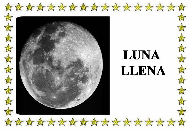 Los peques del pla fases de la luna for Proxima luna creciente