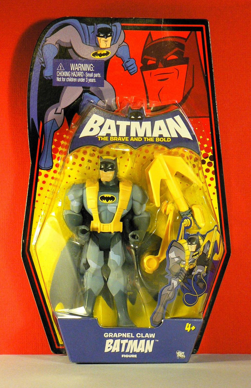 """Batman the brave /& the bold sky shot batman 6/"""" inch action figures"""