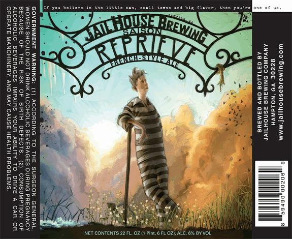 Jailhouse Brewing Reprieve Label