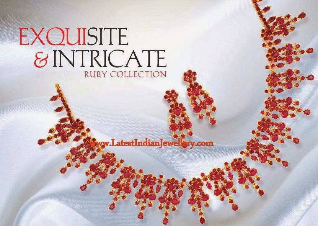 Exquisite Ruby Necklace