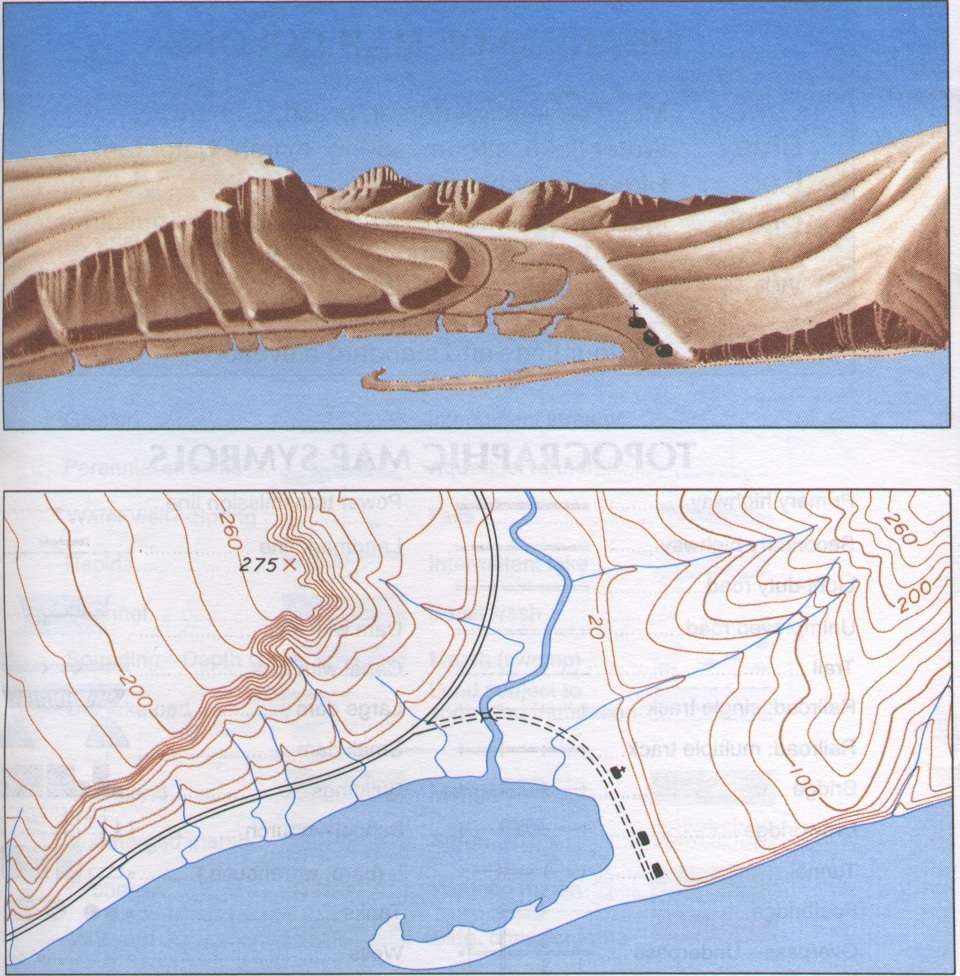 topographic maps help you get an overall view of the forest and a feel for the layout of the land they display elevation through a series of contour lines