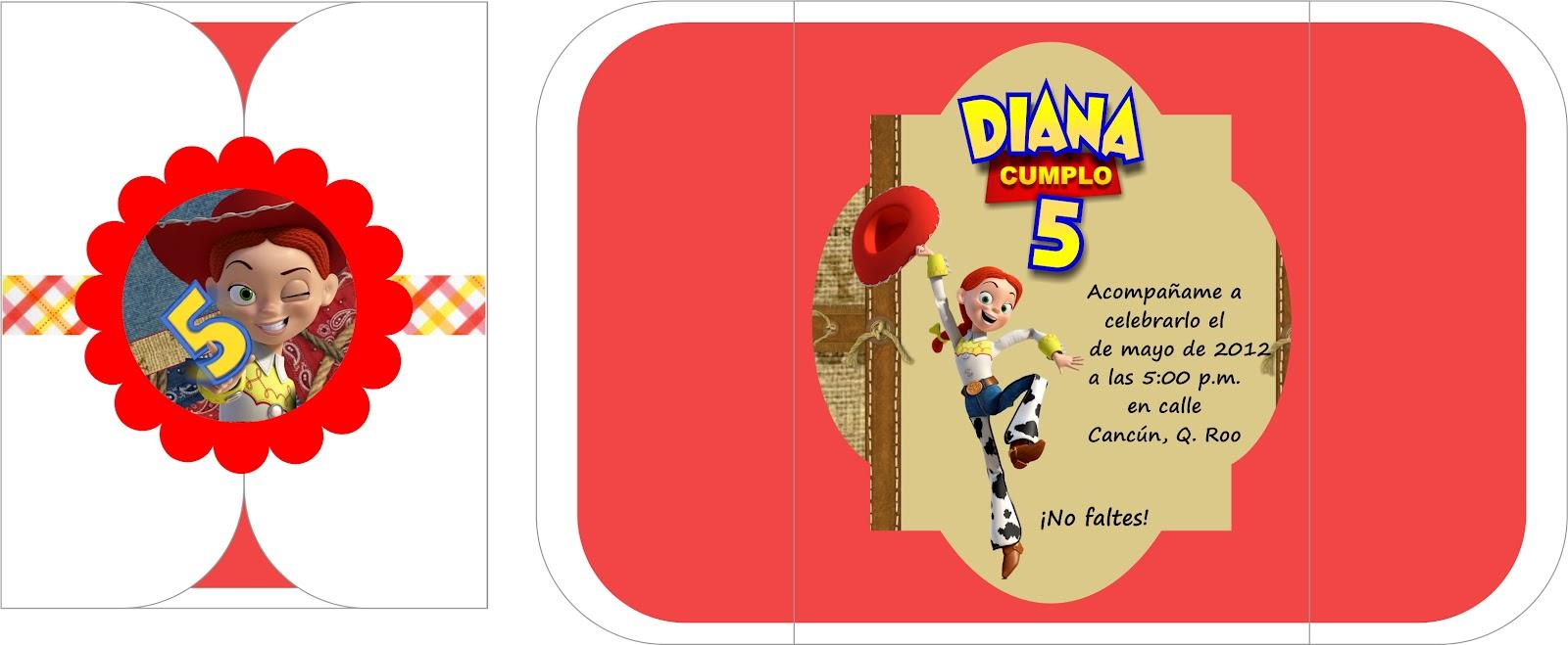 Invitaciones Jessie La Vaquerita Toy Story 3 Pictures