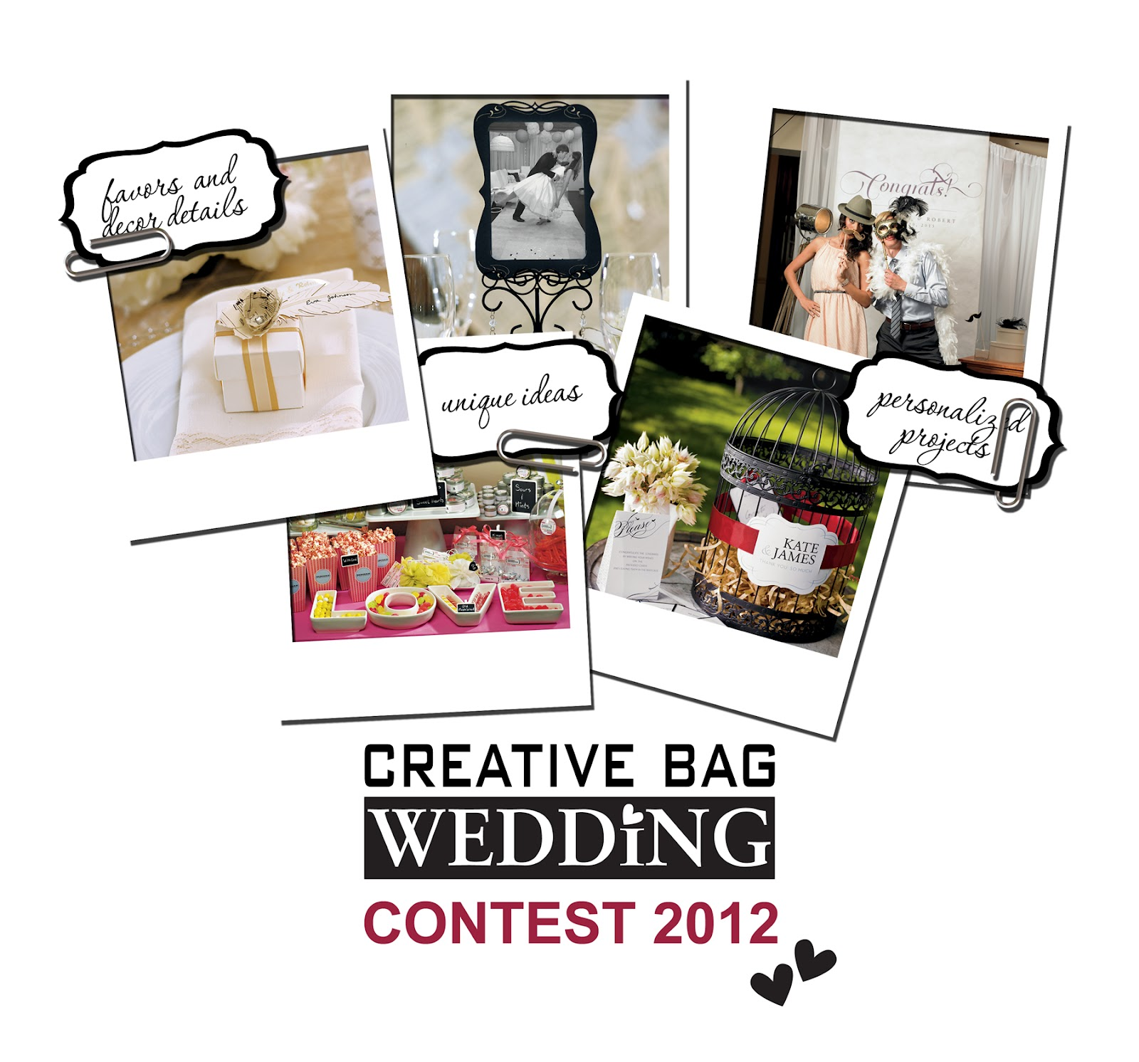Wedding Giveaway Ideas 2012 : the creative bag blog: Creative Bag Wedding Contest 2012
