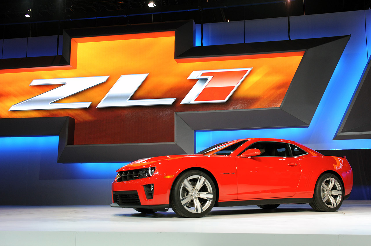 99 Wallpapers Gm Confirms 2012 Chevorlet Camaro Zl1 With
