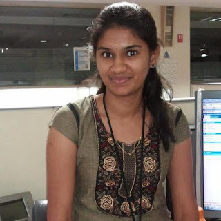 Homely Tamil girl in modern dress.