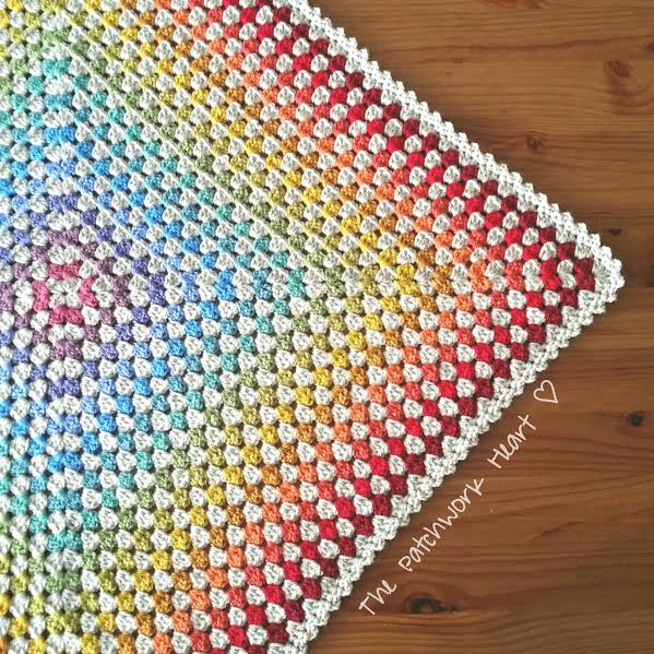 The Patchwork Heart The Crochet Patchwork Blanket