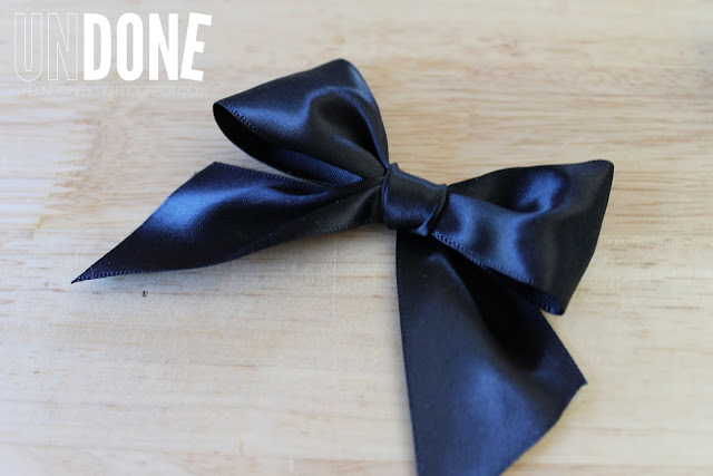 {The UNDONE Blog} Tie a perfect bow